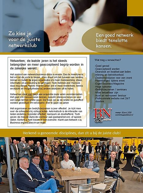 Netwerken - Business Networking & more