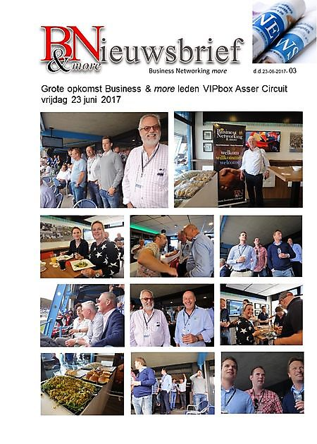 Grote opkomst VIPbox Asser circuit 2017 - Business Networking & more