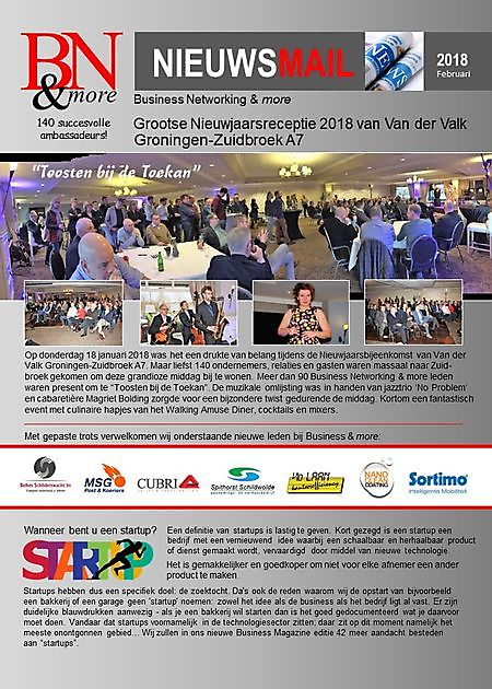Nieuwsmail -01-2018 - Business Networking & more