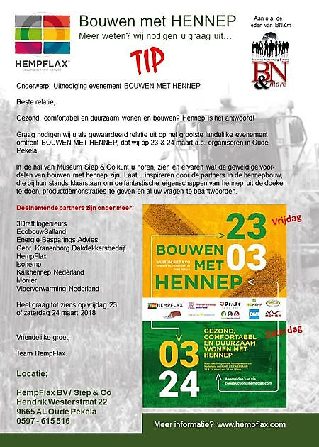 Bouwen met HENNEP - Business Networking & more